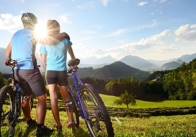 aktivurlaub, baumschlagerberg, radfahren, mountainbiking, entspannung, natur, ruhe, bergfahren