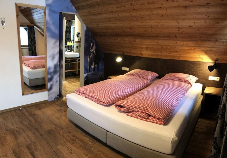 doppelzimmer, hütte, gaudi, urlaub, ferien, übernachtung, vorderstoder, oberösterreich