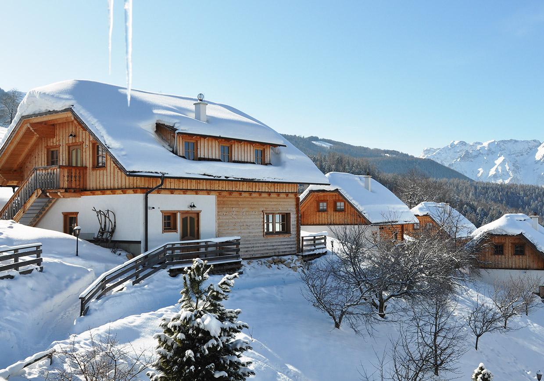 winterurlaub, schnee, hütte, romantik, winterferien, weihnachtsferien