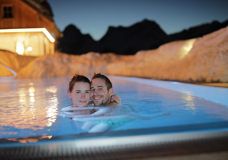 wellness, baumschlagerberg, outdoorpool, romantik, romantikurlaub, liebesurlaub, pärchenurlaub