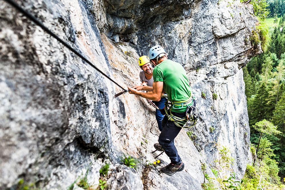 Klettersteig Oberösterreich : Baumschlagerberg u2013 aktivurlaub
