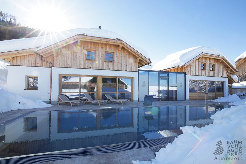 Wellness / Sauna Pool - Almresort Baumschlagerberg